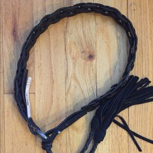 Buffalo David Bitton Braided Leather Belt